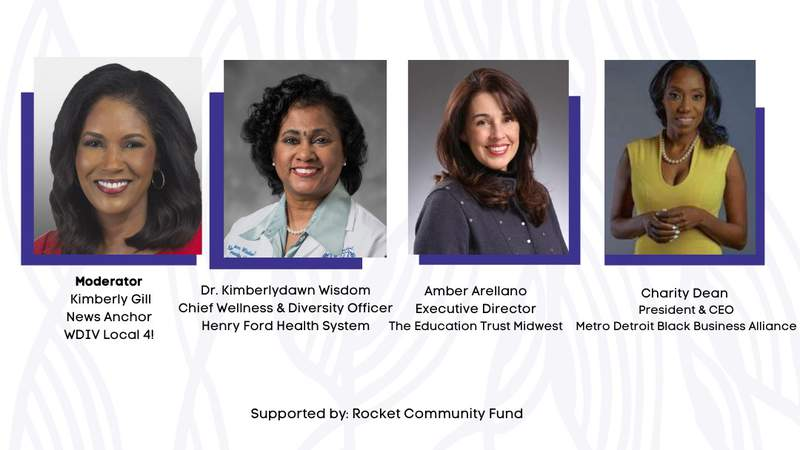 """New Detroit is hosting the New Detroit Town Hall series about """"Advancing a Racially Equitable COVID-19 Recovery."""""""