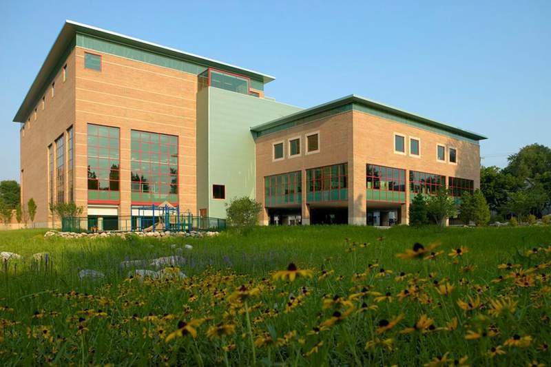 The Ann Arbor YMCA building at 400 W. Washington St.