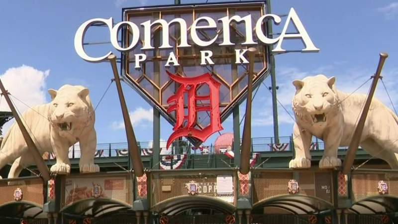 Comerica Park in Detroit ready for opening day