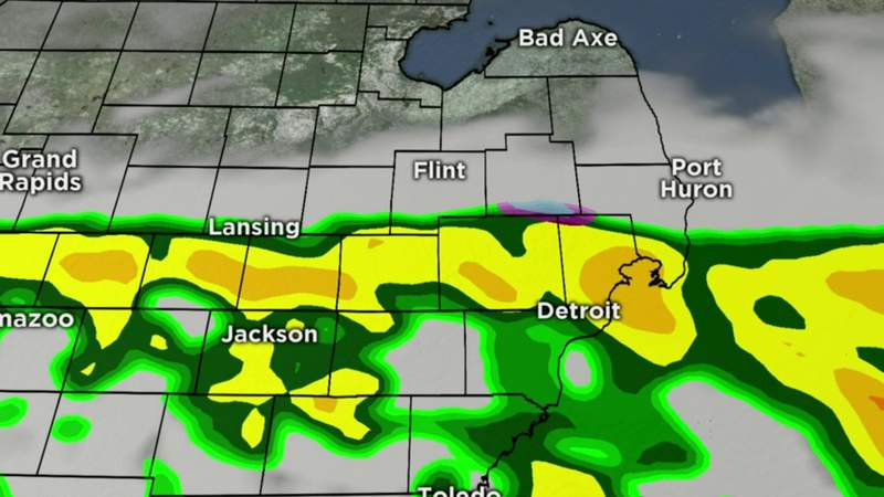 Metro Detroit weather brief for March 25, 2020 -- noon update