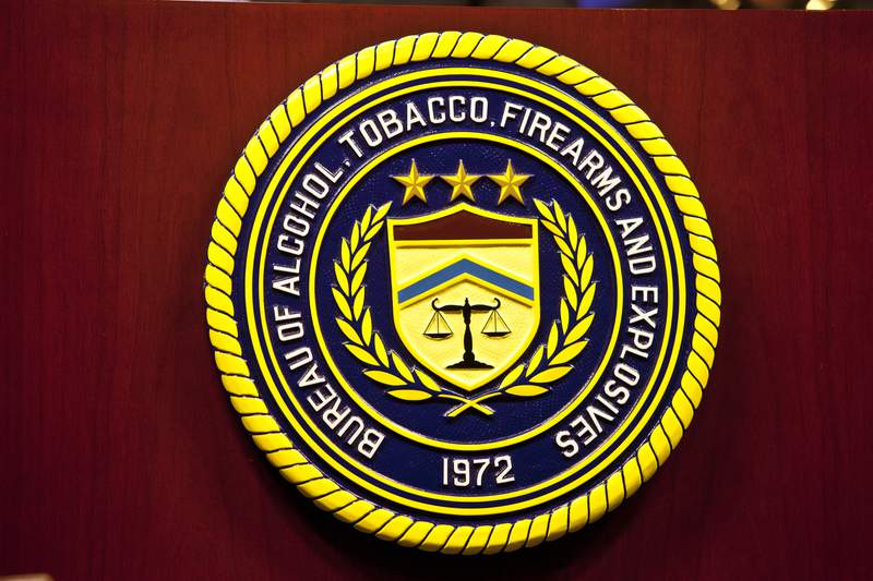 The Bureau of Alcohol, Tobacco, Firearms and Explosives (ATF).
