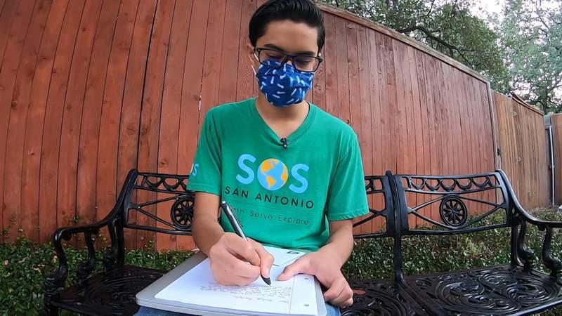 Make a pen pal with senior citizens in San Antonio
