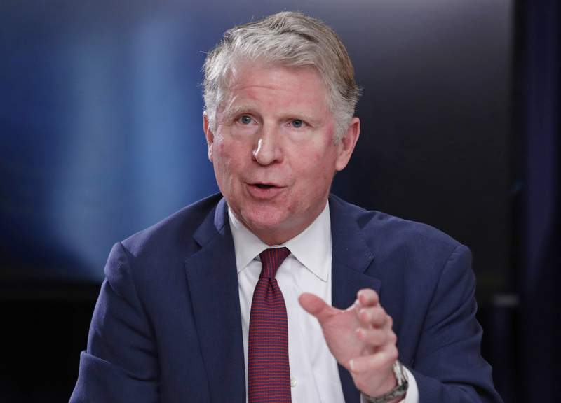 FILE - In this May 10, 2018, file photo, Manhattan District Attorney Cyrus R. Vance, Jr., responds to a question during a news conference in New York. Vance Jr. fought for a year and a half to get access to former President Donald Trumps tax records. Now, thanks to a U.S. Supreme Court ruling, he will soon have them. But what will that mean for the Democrats investigation into Trumps business affairs? Former prosecutors say the trove of records could give investigators new tools to determine whether Trump lied to lenders or tax officials. The former president has argued for years that he broke no laws and has been unfairly targeted by Democrats for political reasons. (AP Photo/Frank Franklin II, File)