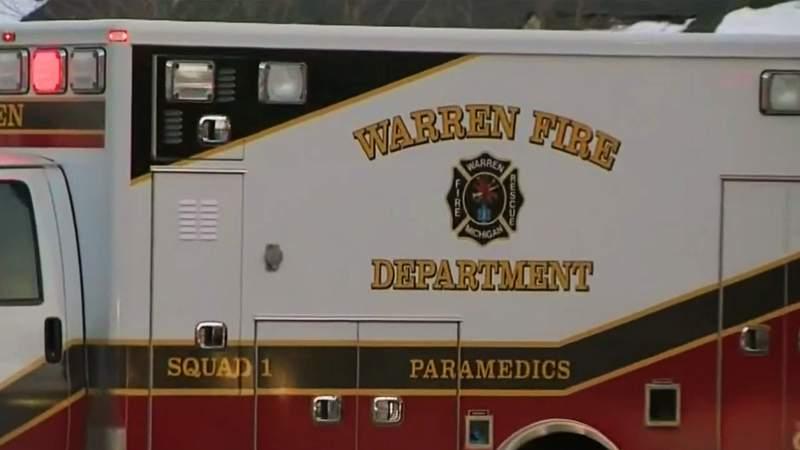 Warren Fire Department ambulance