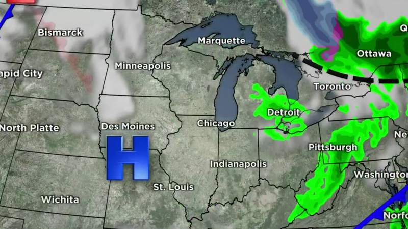 Metro Detroit weather forecast for April 29, 2021 -- 4 p.m. Update