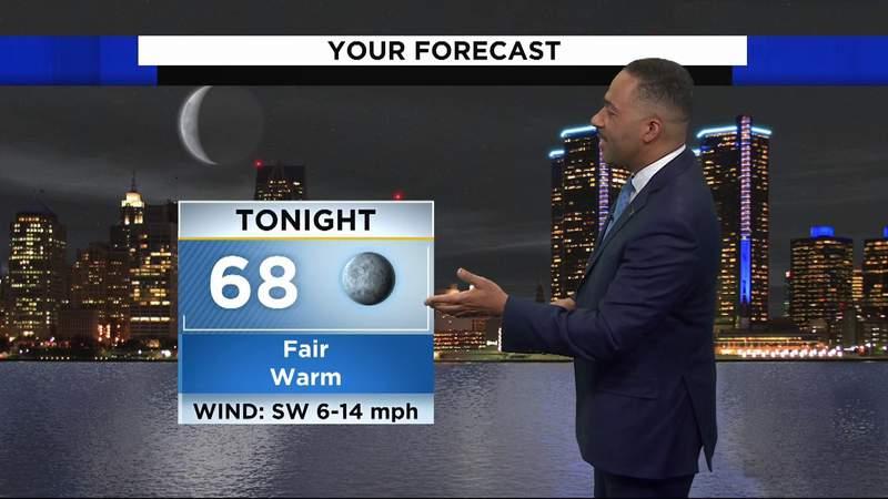 Metro Detroit weather: Warm Saturday evening, heat continues tomorrow, June 5, 2021, 7 p.m. update