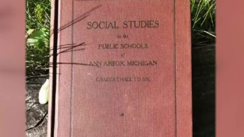 Overdue library book returned 70 years later in Ann Arbor