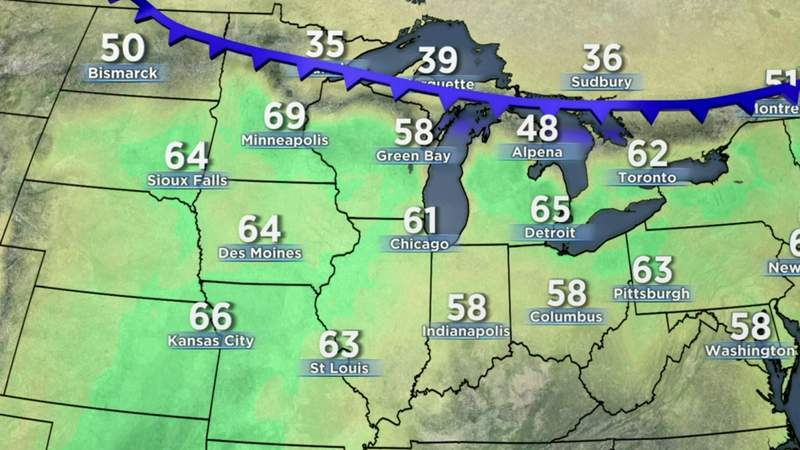 Metro Detroit weather forecast May 20, 2021 -- 11 p.m. Update