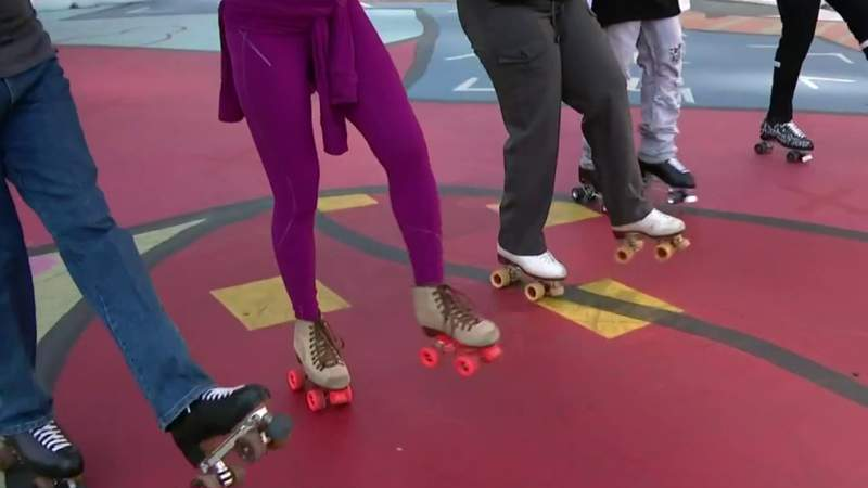 Fitness Friday: Skating with RollerCade Detroit at the Monroe Street Midway