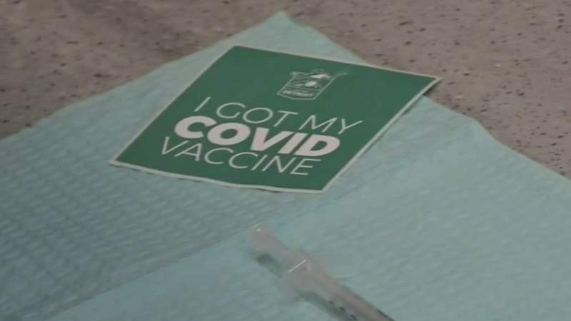 Detroit's mobile vaccination vehicle hits the streets