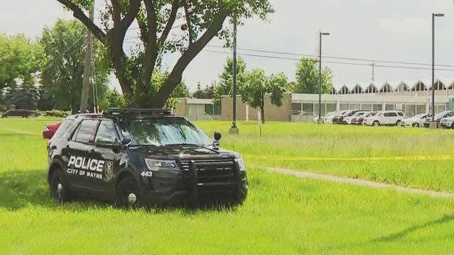 Police are investigating the death of a man after a body was found in Wayne on June 5, 2019. (WDIV)