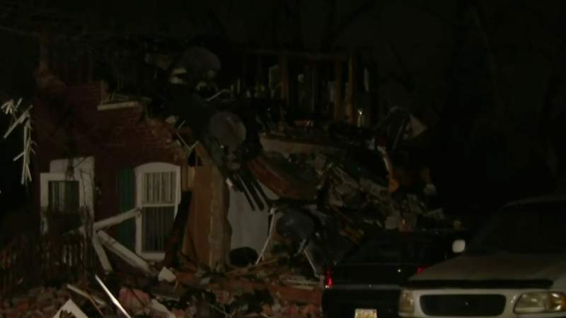 House explosion injures six on Detroit's west side