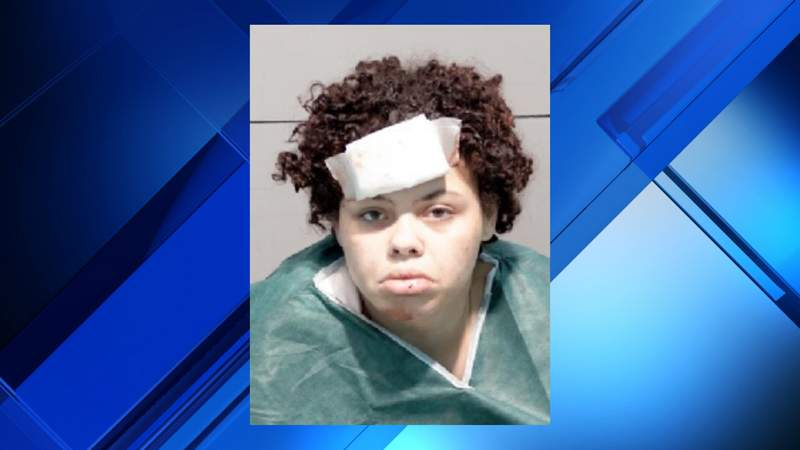 Zantea Jackson-Pool, 23, of Toledo, Ohio was charged in connection with a Detroit car crash that killed her two-year-old daughter and three-year-old son, and severely injured her five-year-old daughter on May 21, 2020.