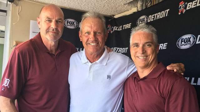 Kirk Gibson (left), George Brett (middle), and Matt Shepard (right). (Matt Shepard's Twitter)