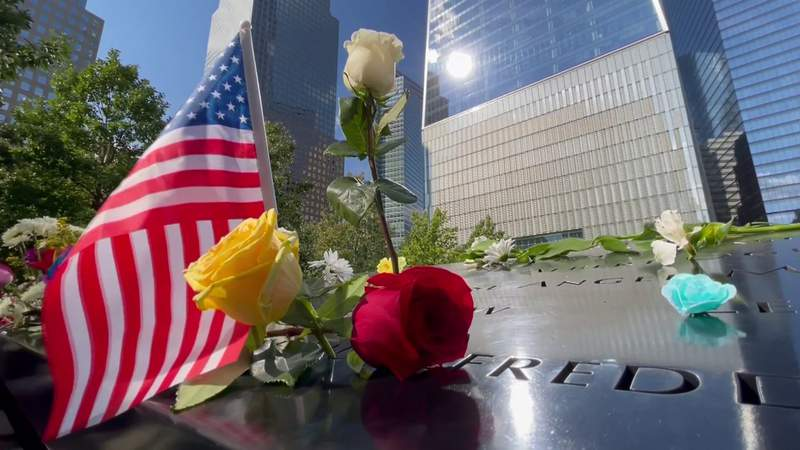 Nick Monacelli visited the 9/11 Memorial on 9/11 -- and found mixed emotions