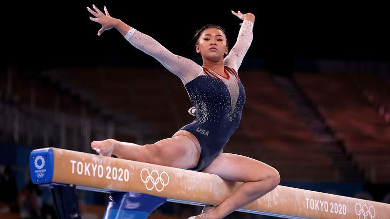 American gymnast Suni Lee claimed the individual all-around gold medal in Tokyo.