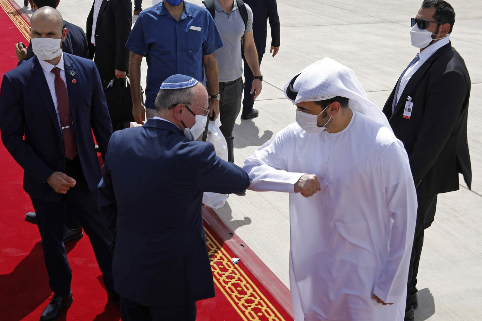 UAE`s warm welcome to Israelis reflects changing region