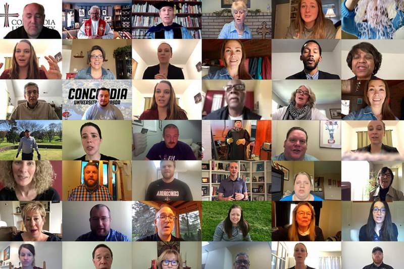 More than 80 CUAA faculty and staff created personalized videos for spring 2020 graduates.