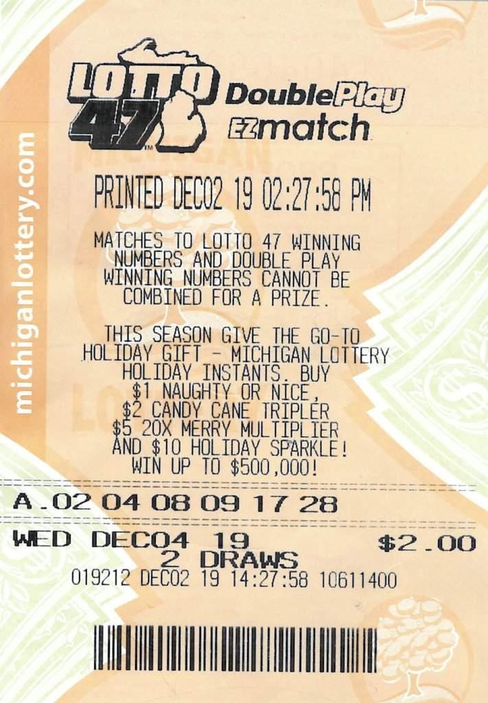 Oakland County Man Wins $1.2 Million Lotto 47 Jackpot (Michigan Lottery)