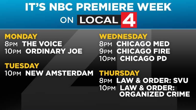 NBC Fall Premiere Week