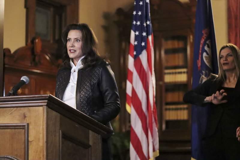 Michigan Gov. Gretchen Whitmer. (Michigan Office of the Governor via AP, File)