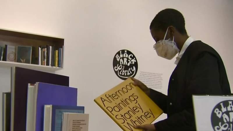 'Black Art Library' MOCAD exhibit celebrates work of artists through books