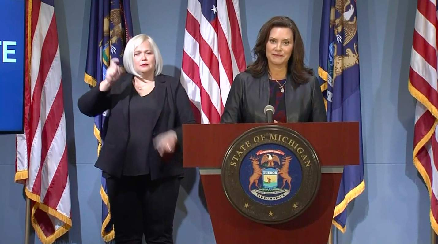 Michigan Gov Whitmer Hints At Decision On Reopening Gyms Resuming Sports In Coming Days