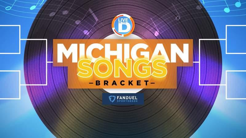 Michigan Songs Bracket logo. (Nice work, Paul!)