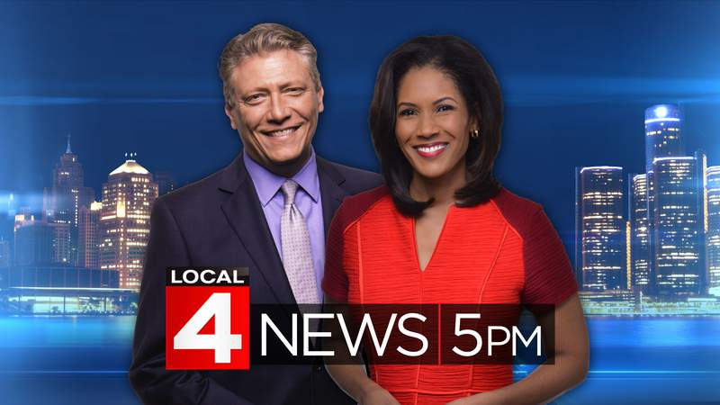 Devin Scillian and Kimberly Gill on Local 4 News at 5.
