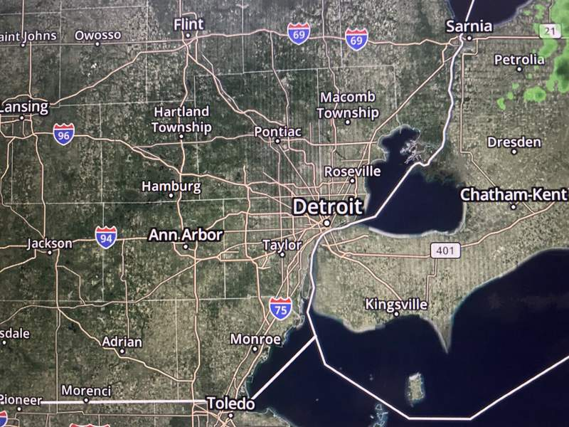 The freeze warning will be in effect until 8 a.m. Monday, April 26.