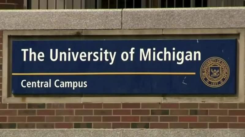 University of Michigan central campus.