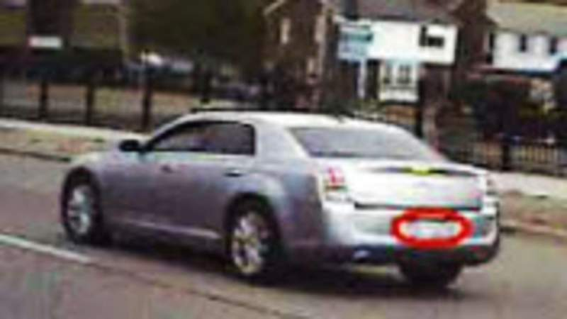 Suspected vehicle in June 3, 2021 hit-and-run on Detroit's west side.