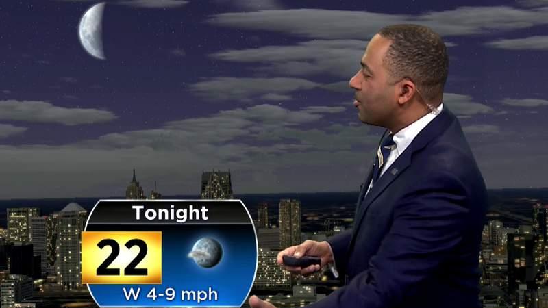 Metro Detroit weather: Fair, chilly Sunday evening -- Feb. 16, 2020, 8 p.m. update