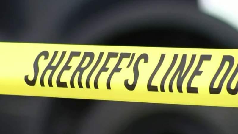 Sheriff's police tape.