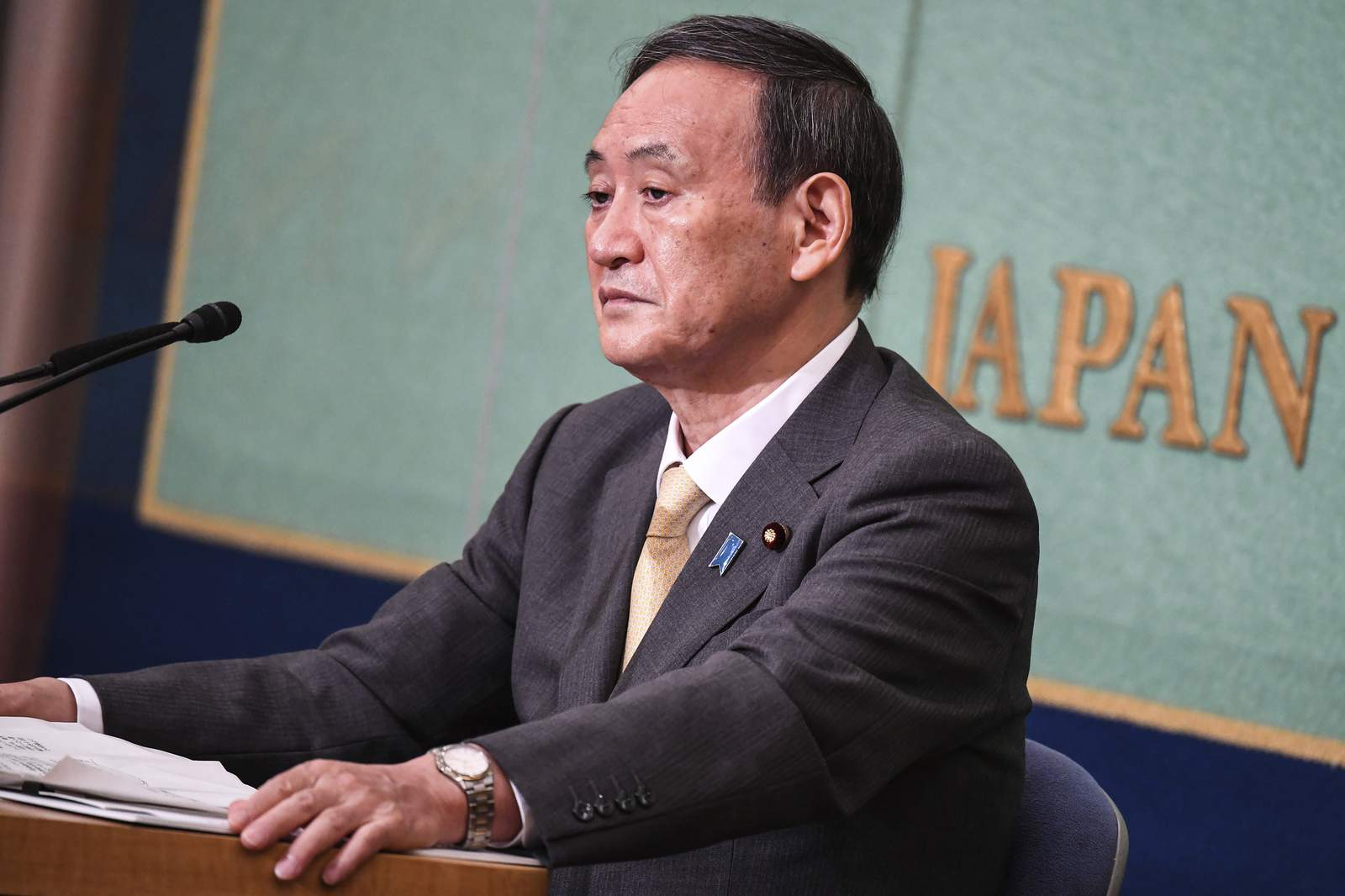 Yoshihide Suga poised to win party vote for...