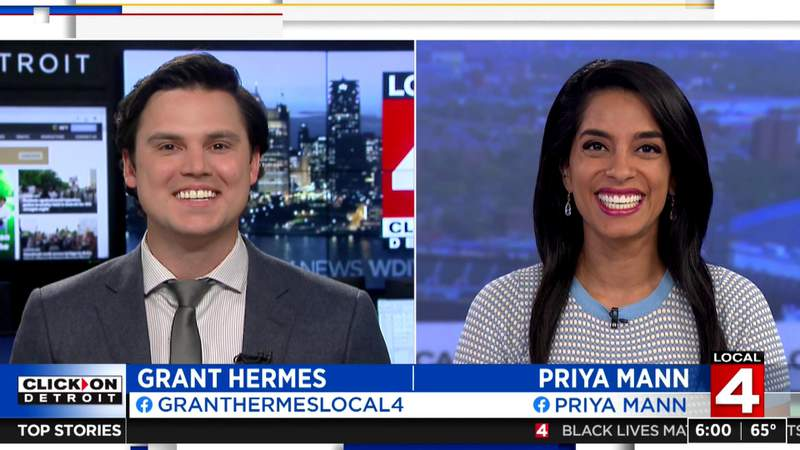 Local 4's Grant Hermes begins first day as morning news anchor