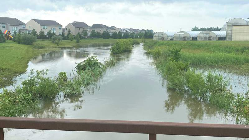 Flooding in Macomb County.