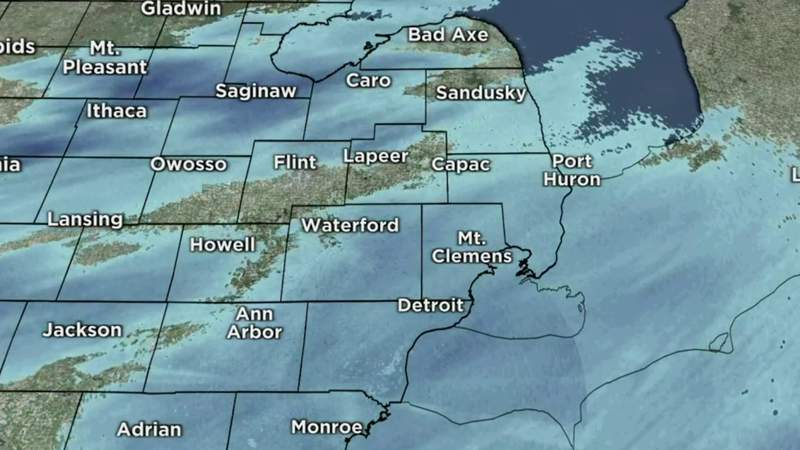 Metro Detroit weather: Snow today, scattered Friday, Feb. 18, 2021, noon update