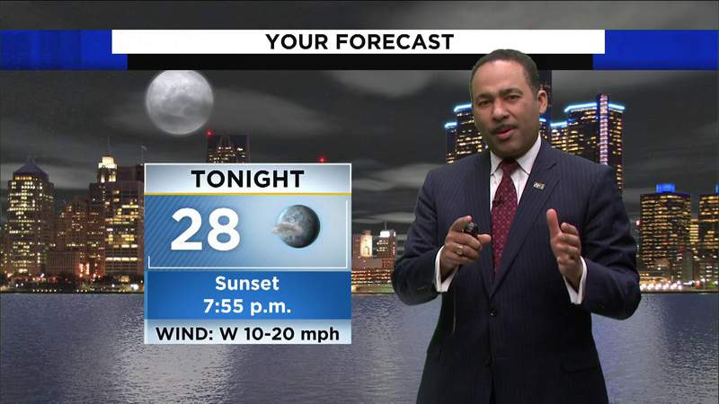 Metro Detroit weather: Windy conditions arrive Palm Sunday and remain chilly, March 28, 2021, 7 p.m. update