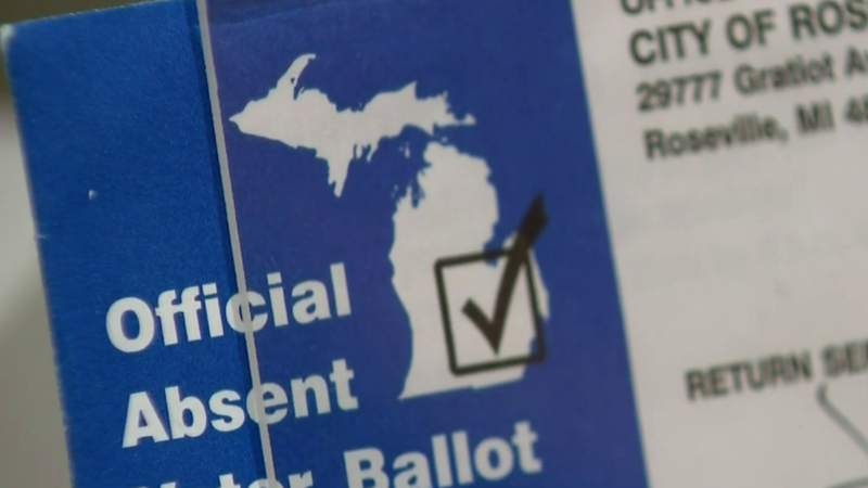 Voting by mail in Michigan for General Election on November 3, 2020