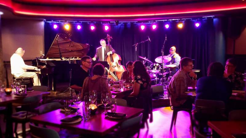 The Gary Schunk Trio plays to a growing audience of music lovers.  Photo | Sarah M. Parlette