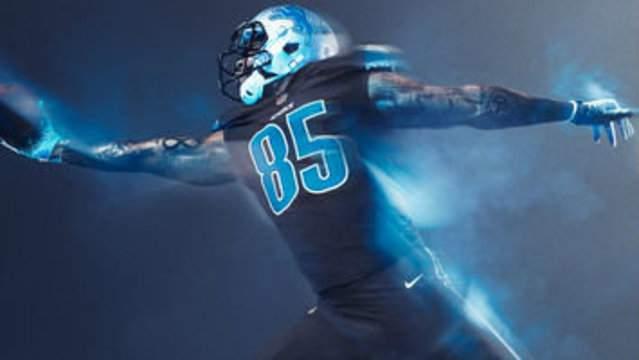 Detroit Lions unveil new 'Color Rush' jersey