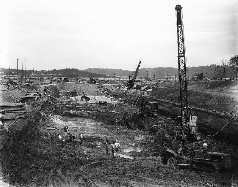 Construction site for The Manhattan Project.