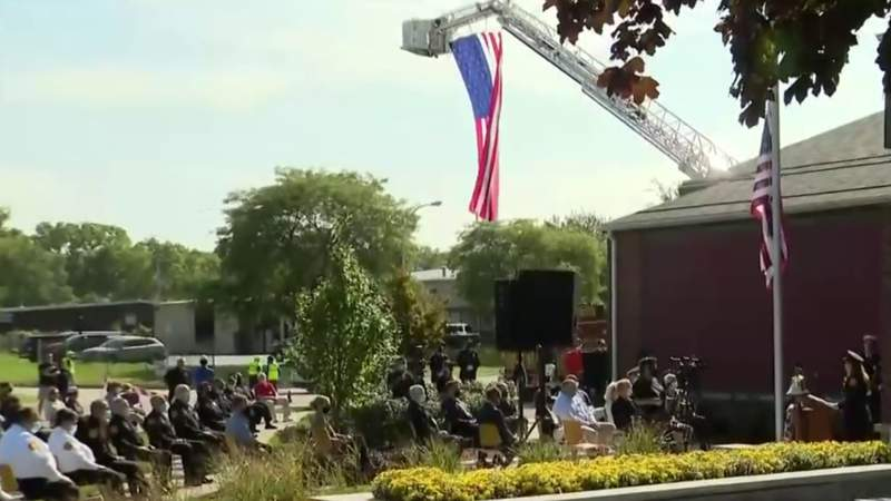 A look at the 9/11 memorial garden in Rochester