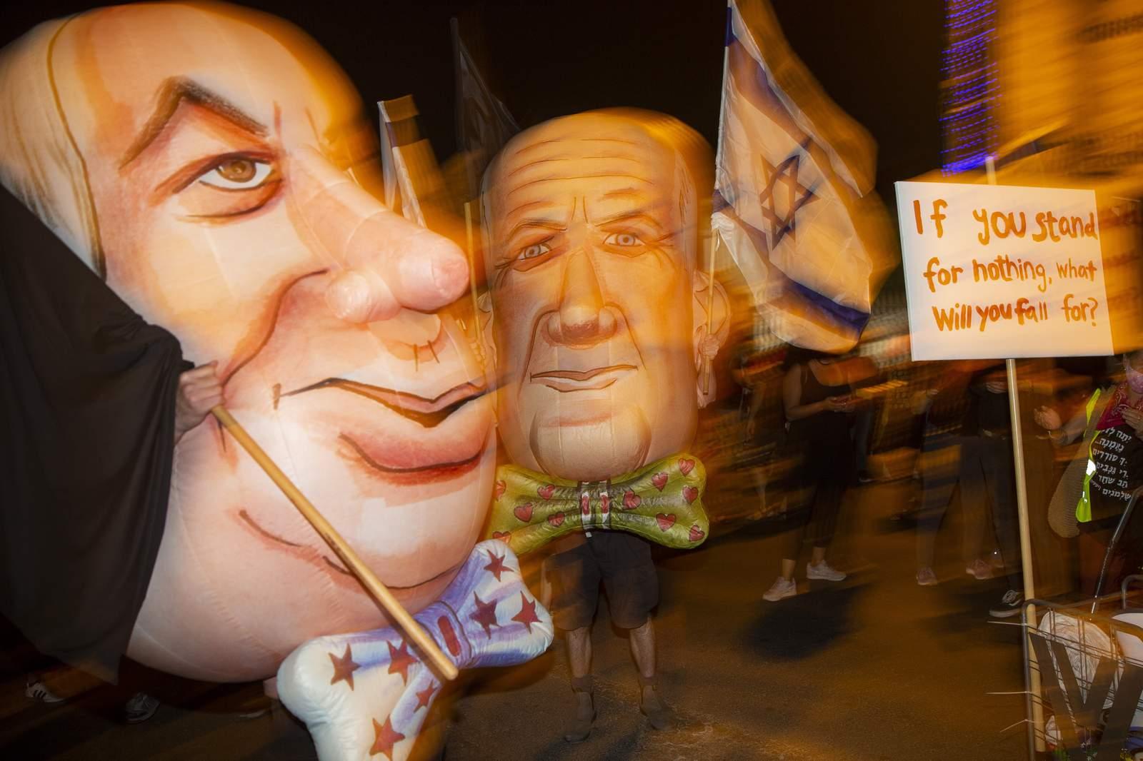 Israeli PM`s uneasy alliance seems headed toward collapse