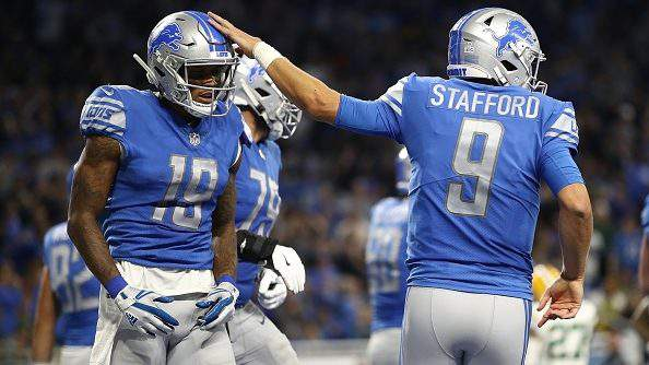 Detroit Lions Wr Kenny Golladay Doesnt Think Team Needs Antonio Brown