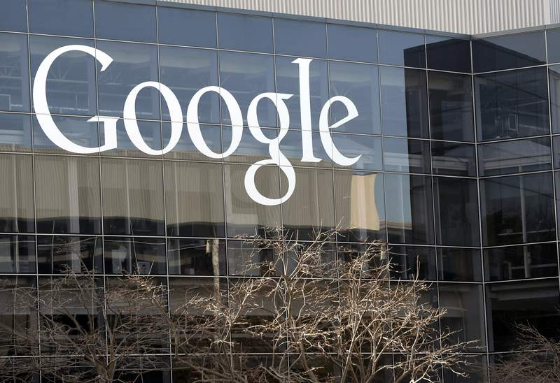 FILE - This Thursday, Jan. 3, 2013, file photo shows Google's headquarters in Mountain View, Calif. Prominent artificial intelligence scholar Timnit Gebru helped improve Google's public image as a company that elevates Black computer scientists and questions harmful uses of AI technology. (AP Photo/Marcio Jose Sanchez, File)