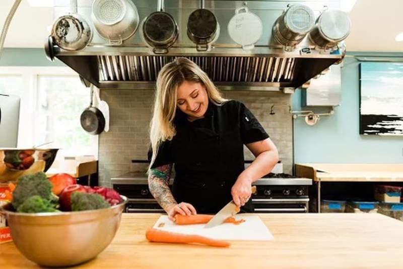 Lala's chef Allie Lyttle.