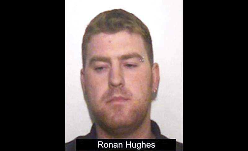 This undated handout photo issued by Essex Police shows Irish haulier Ronan Hughes. A truck driver from Northern Ireland has pleaded guilty to manslaughter in the deaths of 39 people found in the back of a container truck in southeastern England. Ronan Hughes, 40, of County Armagh in Northern Ireland, pleaded guilty Friday, Aug. 28, 2020 at Central London Criminal Court in the deaths of the migrants. The victims were found Oct. 23 in the back of a truck in an industrial park in the English town of Grays. All of the victims were Vietnamese citizens. (Essex Police via AP)