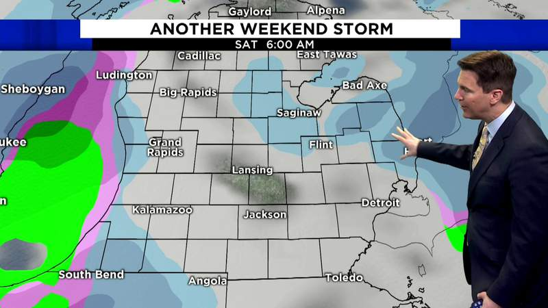 Local 4Casters: Mix of rain and snow expected this weekend